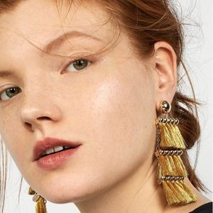 Malaya Tassel Earrings | Anthropologie
